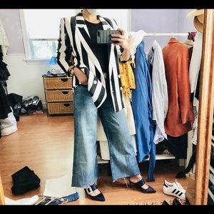 """Zara premium denim """"the wider"""" jeans"""